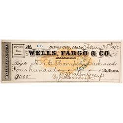Choice RN Wells Fargo Check  (89803)