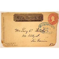 Wells Fargo, NT Cover  (89961)