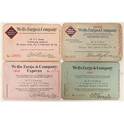 Wells Fargo Passes (4)  (100068)