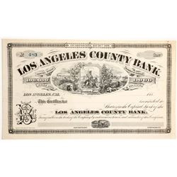 Los Angeles County Bank Stock  (90451)
