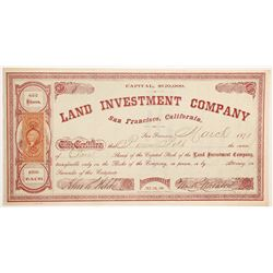 Land Investment Company  (90469)