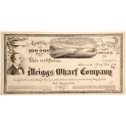 Meiggs Wharf Company Stock  (90471)