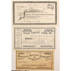 Three Bay Area Stocks  (90420)