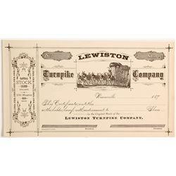 Lewiston Turnpike Company Stock  (90434)