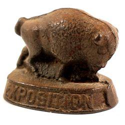 Pan-American Buffalo Paperweight  (89324)