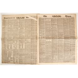 The Times (of London) May 1851 Newspaper  (86868)