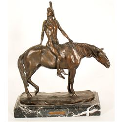 The Warrior - Bronze by Charles Humphriss  (91262)