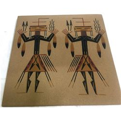 Navajo Sand Painting by Hunt  (87416)