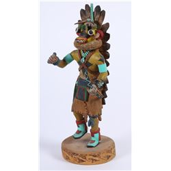 Wood Carved Kachina by Auguh  (87830)
