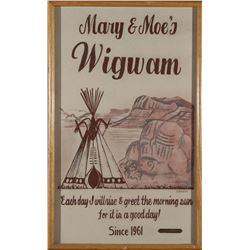 Mary & Moe's Wigwam Sand Art  (87610)