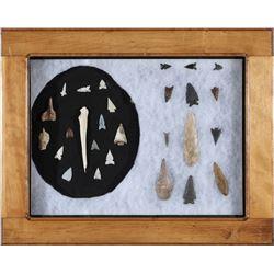 Arrowheads & stone tools  (87725)