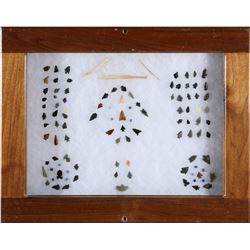 Bird Points, Tiny Obsidian & Stone Points; Cobalt beads; Misc Tools  (87723)