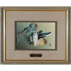 Framed Great Basin Side Notch Print by Hummel  (87642)