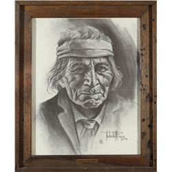 """A Face of the West"" Print by Reyes  (87651)"