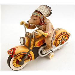 Bear Riding an Indian? Motorcycle  (87747)