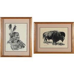 Bob Dale Western Prints (2)  (87733)