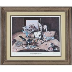 Framed Treasures from the Favell Museum Print by Anderson  (87655)