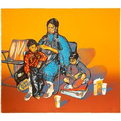 Reflections - Serigraph print by Lynn Hayes  (101040)