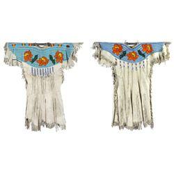 Beaded Buckskin dress  (87752)
