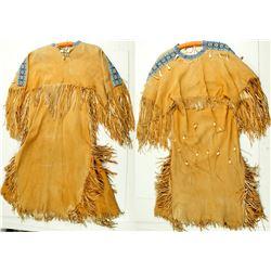 Dress (Native American, Buckskin Suede)  (86810)