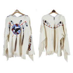 Elk Hide War Shirt (Paiute)  (87753)