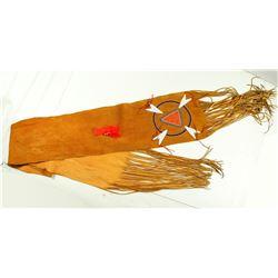 Native American Indian Shawl of Buckskin Deer  (86816)