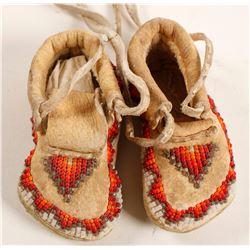 Paiute-Shoshone Baby Moccasins  (90769)