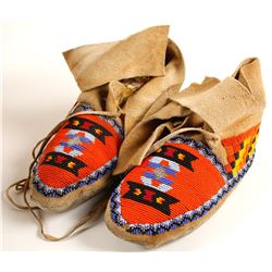 Complex Beaded Moccasins  (90623)