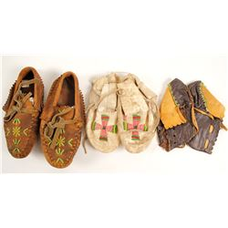 Small Moccasins, 3 Pairs  (90629)