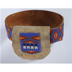 Paiute Full Beaded Belt  (85977)