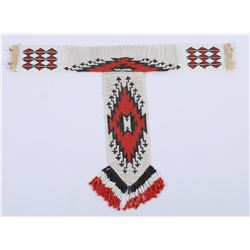 Beaded Tie and Neck Band  (85928)