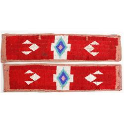 Native American Beaded Arm Bands  (56622)