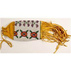 Plains Apache Beaded Tobacco Bag  (90638)