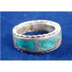 Navajo Turquoise Ring  (89553)
