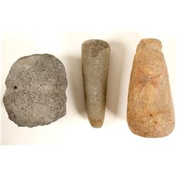 Pestles and Sharpening Stone -this item removed for Cultural and Historical Preservation