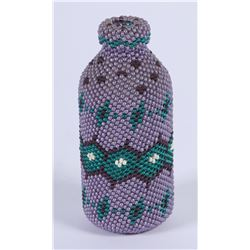 Small Paiute Beaded Bottle by Audrey Frailinger  (87838)