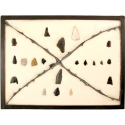Arrowheads, Knife, Drills, Bird Points  (90655)