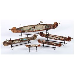 Canoes (5 Decorative)   (87532)