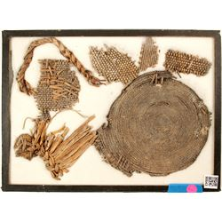 Native American Tray (Weaved) & Partial Trays  Item Removed for Cultural and Historical Prese