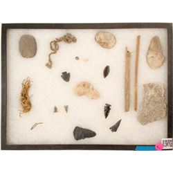 Points, Arrowheads, Scrapers (Northern Washoe)  (90640)