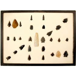 Points, Arrowheads, Scrapers (Northern Washoe)  (90653)