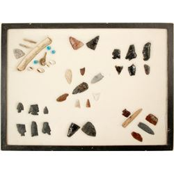 Points, Trade Beads and Abalone  (90285)