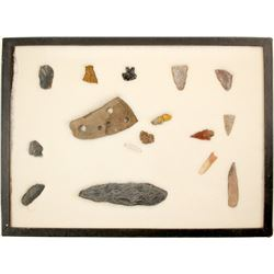Spear Sharpener, Trade bead, Arrowheads  (90650)