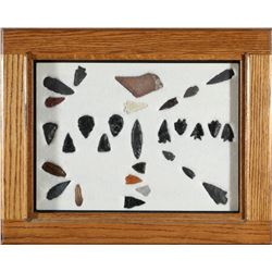 Stone Points & Arrowheads, Scrapers  (87717)