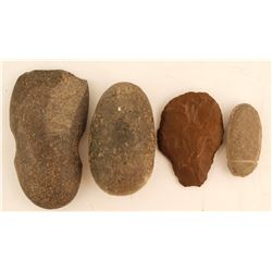 Stone Tools (4) -Items Removed for Cultural and Historical Preservation (98021)