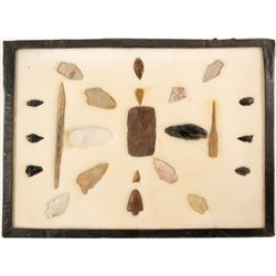 Early projectile Points; a Knife and Drill  (90275)
