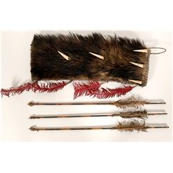 Fur Quiver with Arrows  (87868)