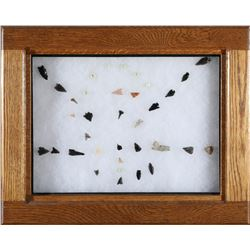 Projectile Points, bird points and beads  (87766)