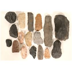 Stone Hand Tool Collection (19)  (98055)