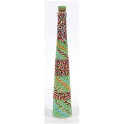 Tall Beaded Bottle (Paiute)  (87862)